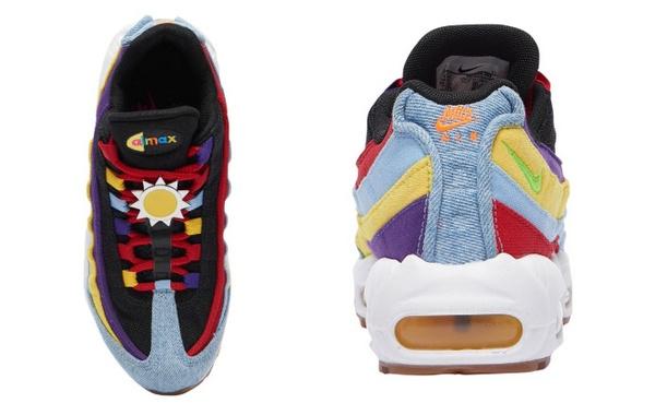 Nike Air Max 95 鞋款全新配色释出,复古炫酷升级