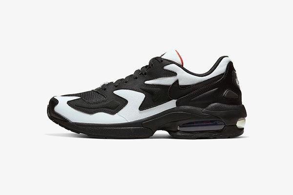 Air Max 2 Light 鞋款全新黑白配色释出,熊猫配色既视感