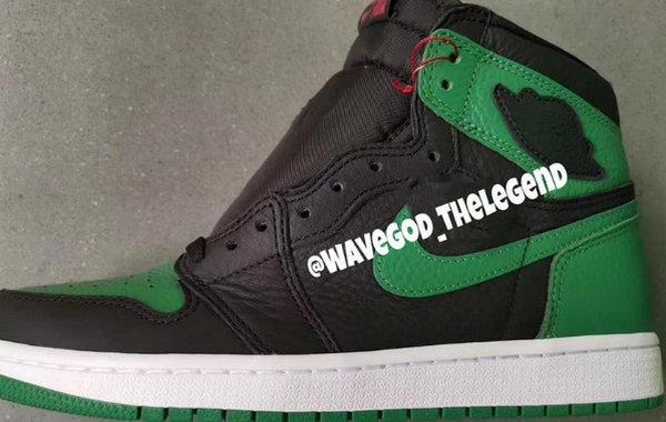 """Air Jordan 1 """"Pine Green"""" 配色鞋款谍照首次曝光,有点不一样"""