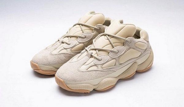 "Yeezy 500 全新 ""Stone"" 配色鞋款发售日期曝光,颜色小清新"