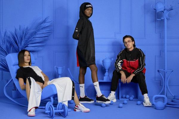 PUMA x KARL LAGERFELD 全新联名系列鞋服上架发售~
