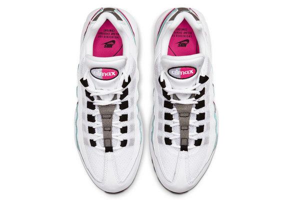 Air Max 95 WMNS 鞋款全新白葡萄配色首次曝光,清爽活力配色