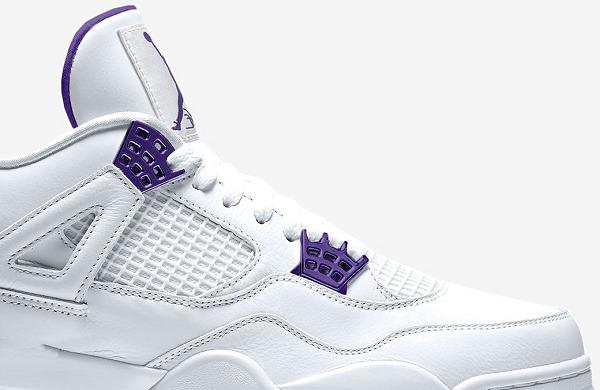 "Air Jordan 4 鞋款""Court Purple""白紫配色-2.jpg"