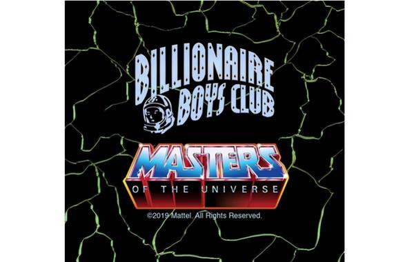 Billionaire Boys Club X《宇宙巨人希曼》全新联名别注系列