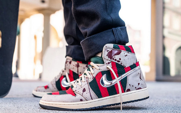 "Air Jordan 1 客制全新""Freddy""配色鞋款发售,动心了吗?"