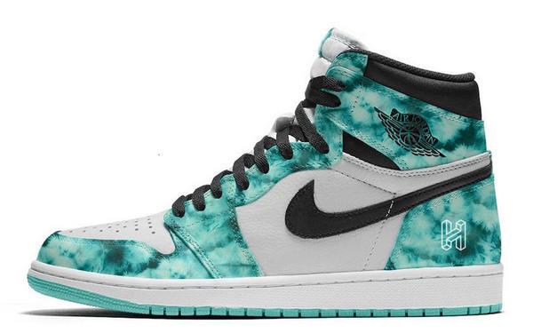 Air Jordan 1 鞋款全新扎染配色.jpeg
