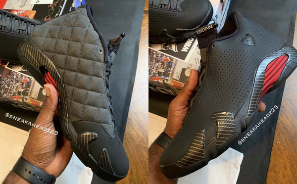 """Air Jordan 14 SE """"Black Ferrari""""黑色法拉利鞋款即将上架"""