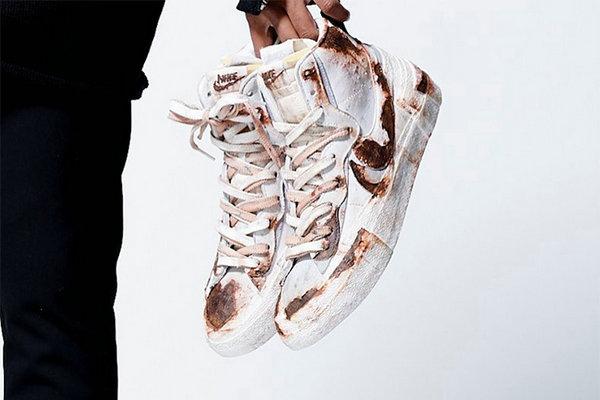 Sacai x Nike Blazer Mid 联名鞋款全新定制版本亮相,酷到没朋友