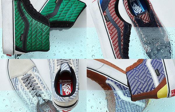范斯 2019 全新 GORE-TEX 系列鞋款登陆日本,防水性能优越