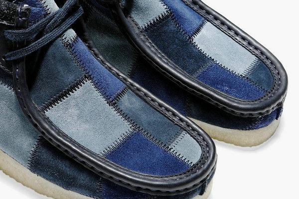 Bodega x Clarks 全新联名别注拼皮 Wallabee 鞋款释出