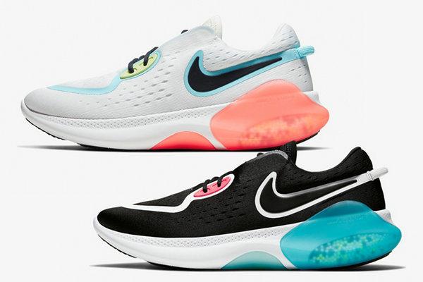 Nike 全新 Joyride Run 2 POD 鞋款曝光,黑、白两款主题配色