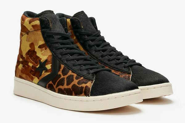 匡威 Pro Leather Mid 鞋款全新野性主题配色即将上架