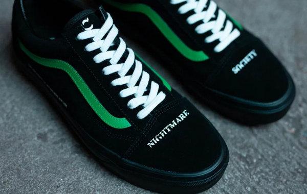 Coutié x Vans Old Skool 全新联乘「Nightmare Society」系列鞋款发售~