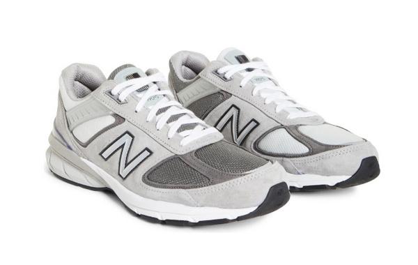 BEAMS x 新百伦全新联乘 990v5 鞋款发售,趣味配色拼接