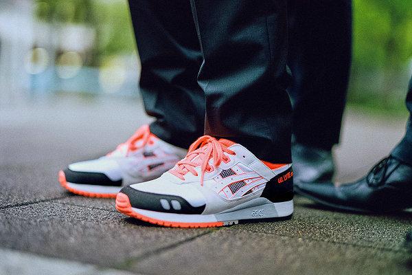 亚瑟士白黑橙配色 GEL-Lyte 3 OG 鞋款首度曝光,都市之子风范