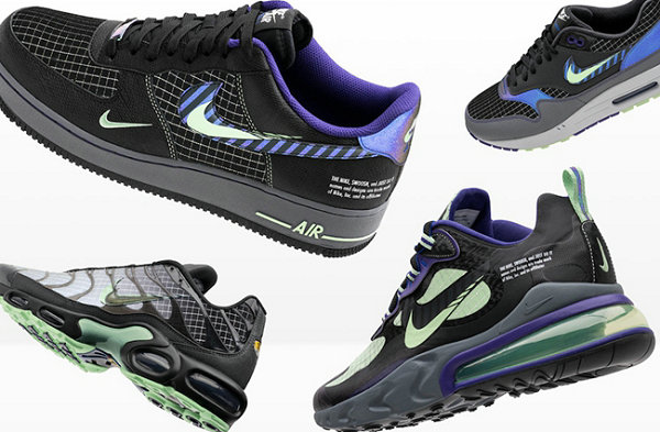 """耐克""""Future Swoosh""""主题鞋款系列曝光,未来科技感外观"""
