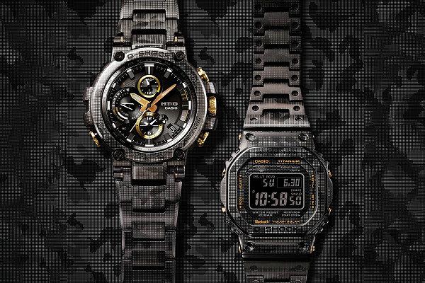 G-SHOCK 2019 金属雷射迷彩腕表系列将于下月起售,高规格配置
