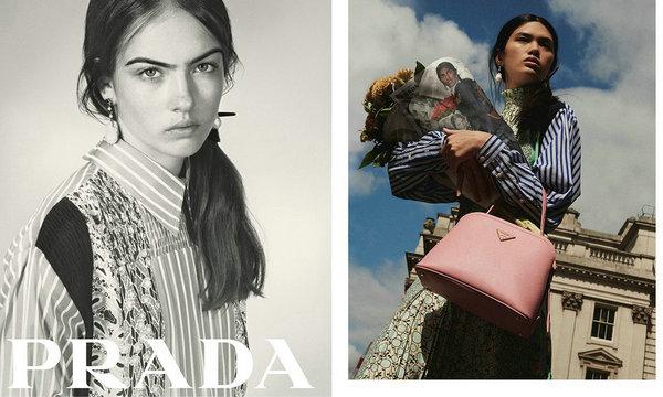 Prada(普拉达)2020 早春度假系列广告大片赏析~