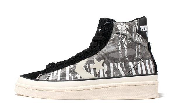 匡威 x PLEASURES 全新联名 Pro Leather 鞋款即将上架