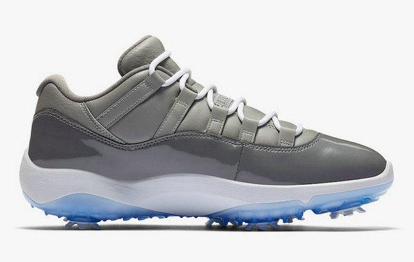 AJ11 Low Golf 鞋款全新酷灰配色来袭,复古质感