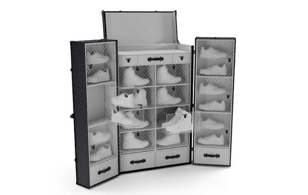 Louis Vuitton 全新球鞋收纳旅行箱即将开售,可客制图案