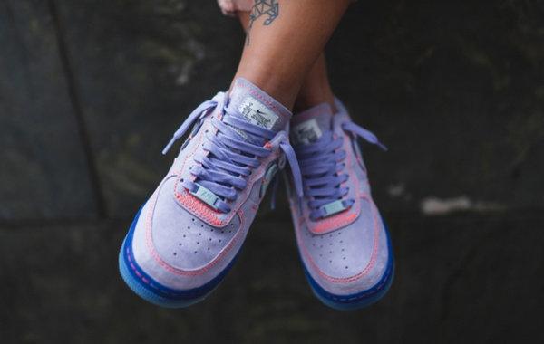 Nike Air Force 1 '07 Lux 淡紫配色鞋款释出,细节不输联名