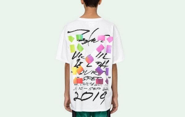 Off-White x Futura 联乘服饰系列官网上架,涂鸦泼墨形式