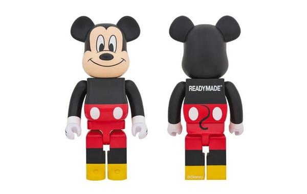 READYMADE x 迪士尼 x Medicom Toy BE@RBRICK 三方联名玩偶模型发售.jpg