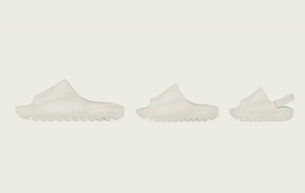 adidas X YEEZY 合作 Slide 拖鞋正式发售,一家人都能穿~