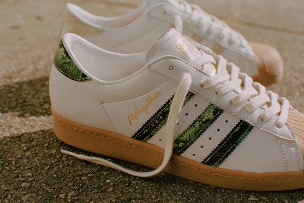 阿迪达斯 x Metropolitan 全新联名鞋款上架发售
