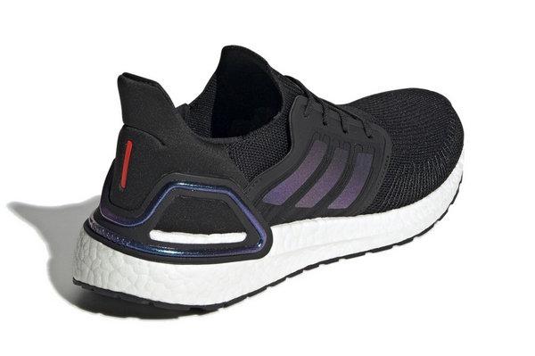 阿迪达斯 UltraBOOST 20 跑鞋全新 Core Black 配色释出