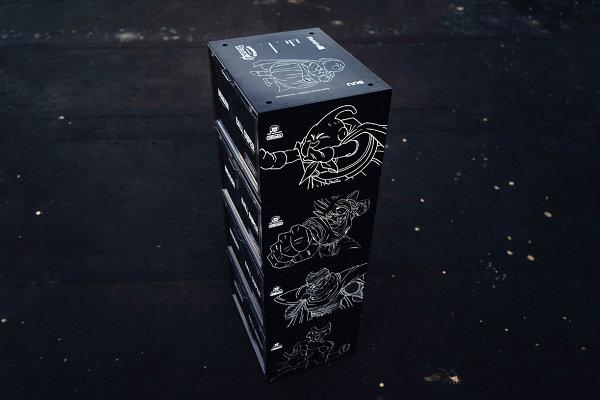 DBRukia x《龙珠超》联名限定鞋盒系列亮相,独特扎染细节