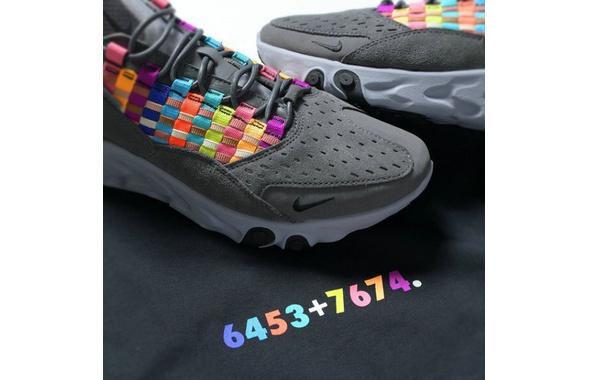 Nike x SOPH.全新联乘系列释出,麂皮融合彩带细节~