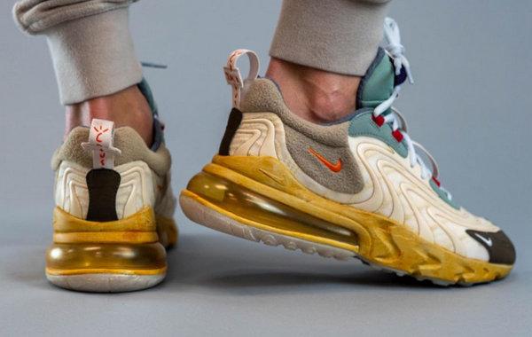 Travis Scott x Nike Air Max 270 React 联名鞋款发售.jpg
