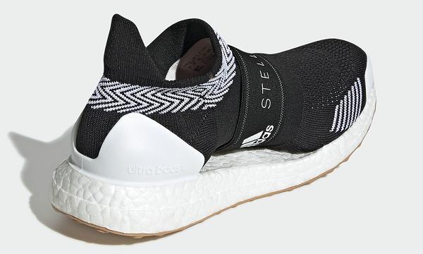 阿迪达斯 x Stella McCartney 2020 联名黑白 UltraBOOST X 3D 鞋款-2.jpg