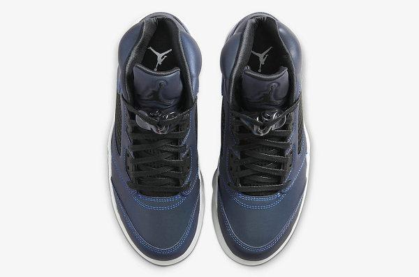 "Air Jordan 5 GS 午夜蓝配色""Oil Grey""鞋款曝光,全 3M 反光设计"
