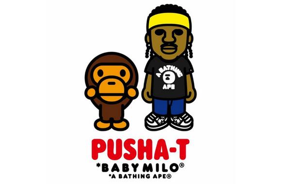 "Pusha-T x Bape 全新合作企划正式公开,""猿颜家族""增员"