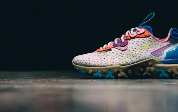Nike React Vision 全新跑鞋即将发售,柔软脚感~