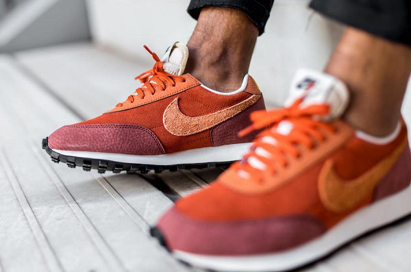 "Nike Daybreak 红棕配色""Rugged Orange""鞋款海外发售"