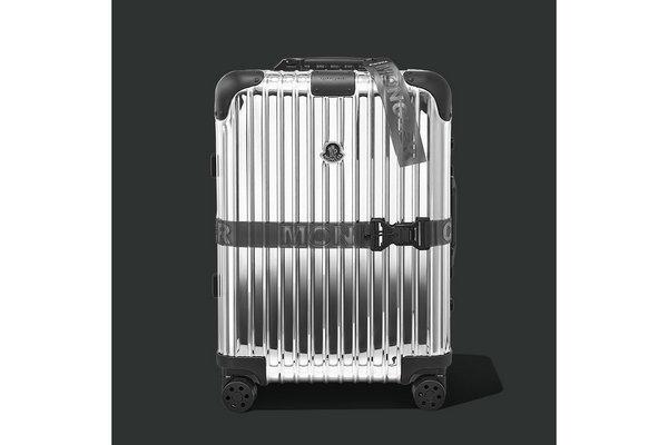RIMOWA x 盟可睐联名 LED 旅行箱抢先预览,滚动屏幕?