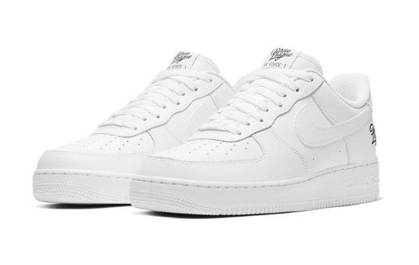 Nike Air Force 1  Low 德鲁联赛配色鞋款释出,刺绣点缀