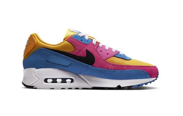Nike Air Max 90 全新配色鞋款亮相,亮眼撞色设计!