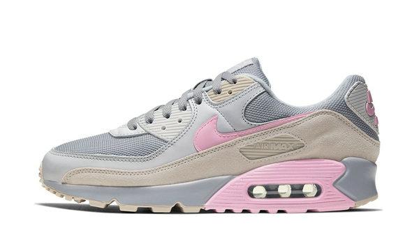 Air Max 90 鞋款全新「灰粉」配色释出,复古气质