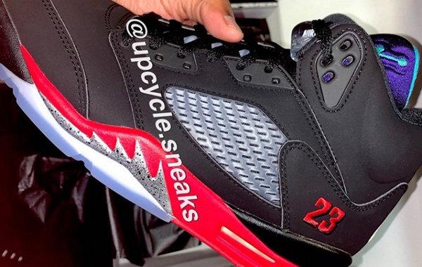 "Air Jordan 5 ""Top 3""全新配色鞋款实物曝光,气质很经典"