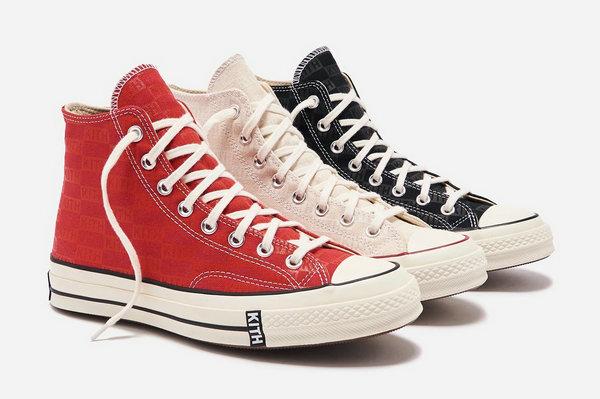 美潮 KITH x 匡威联名 Chuck 1970 鞋款系列明日开售