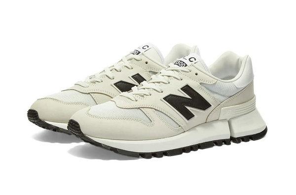 CDG x 新百伦联名 RC1300s 鞋款系列上架,低调素雅