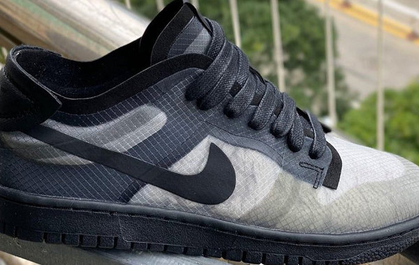 CDG x Nike Dunk Low 全新联乘鞋款系列释出,满版印花设计