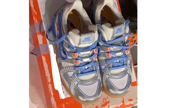 OFF-WHITE x Nike 全新鞋型实物照释出,第二双配色