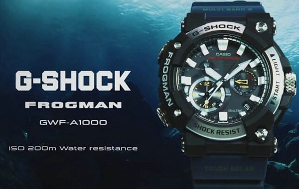 G-SHOCK 全新 Frogman 系列腕表亮相,搭配 APP 使用