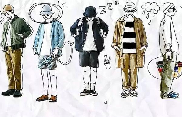 日系穿搭男士必不可少的5个搭配要点